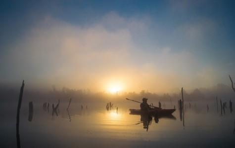 Fall mornings in Missouri break silently