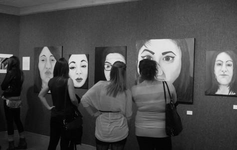 Senior artist final exhibits showcased in Campanella Gallery