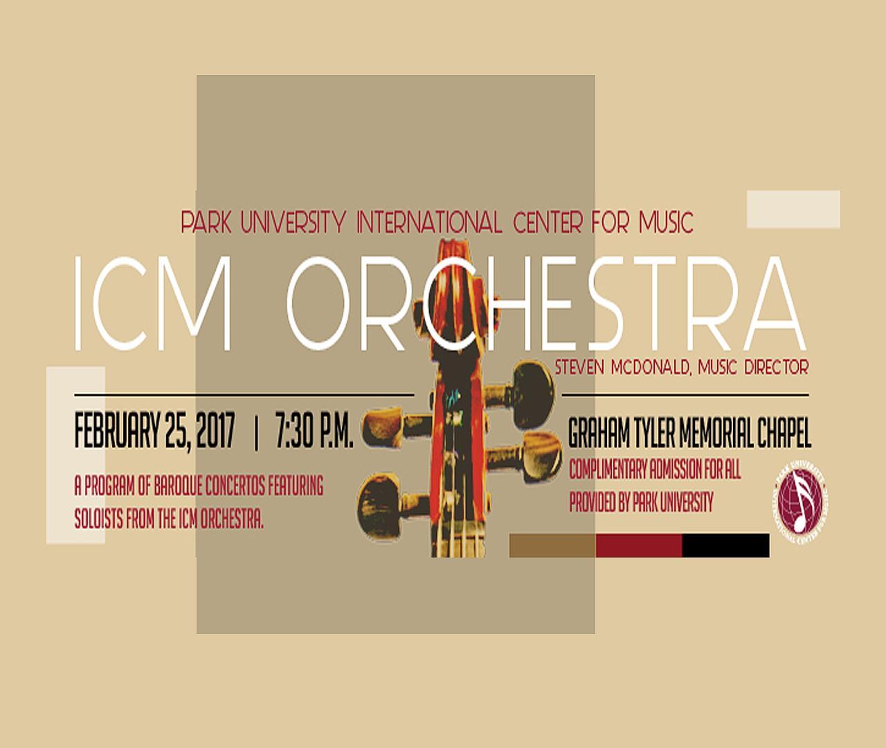 ICM Concert 2/25/2017