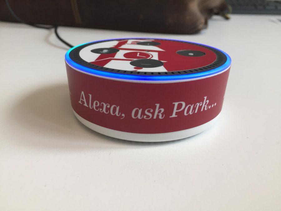 Park University branded echo dot