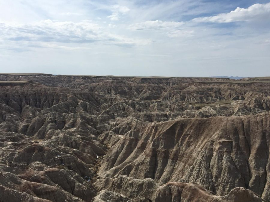 Good times, music inspired by the Badlands National Park