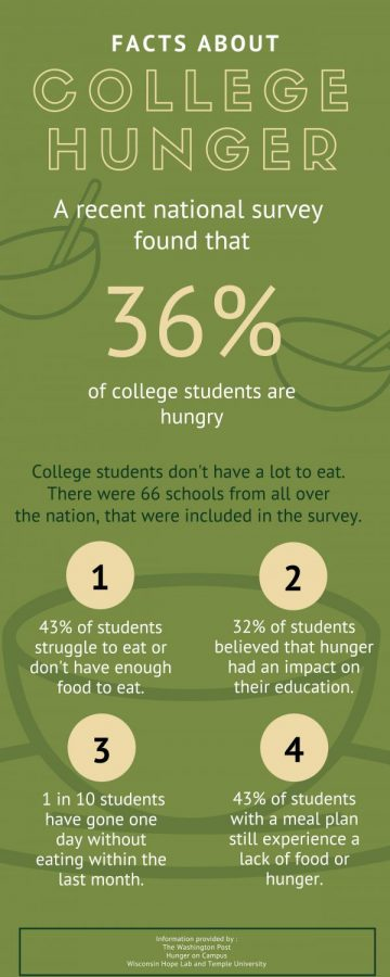 Facts about college hunger