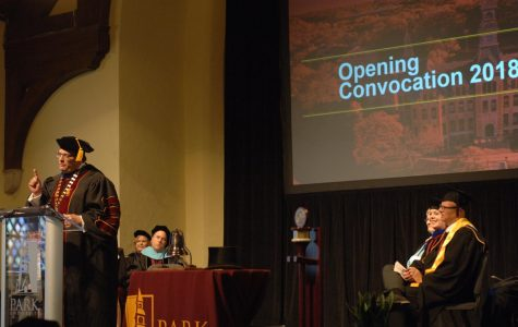 Opening convocation highlights goals for a successful school year