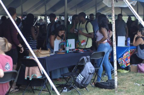 Park University holds annual International Festival in the underground