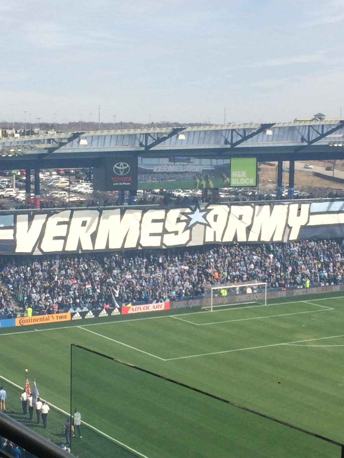 The Cauldron putting on a fine display in Sporting KC MLS home opener
