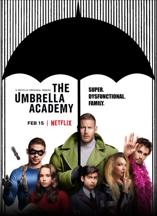 Umbrella+Academy+takes+Netflix+by+storm