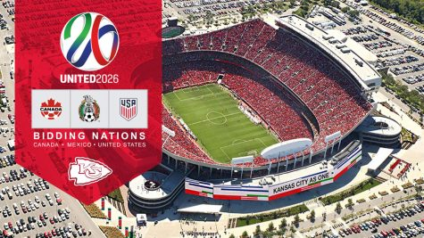A renovated Arrowhead Stadium would host games if Kansas City is selected as a host city.