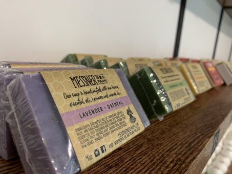 Organic soap at The Exchange